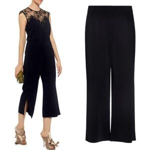 ALC Enzo Gaucho High-rise Side Slit Cropped Pants